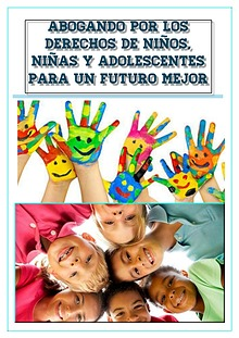 Abogando por los Derechos de Niños, Niñas y Adolescentes