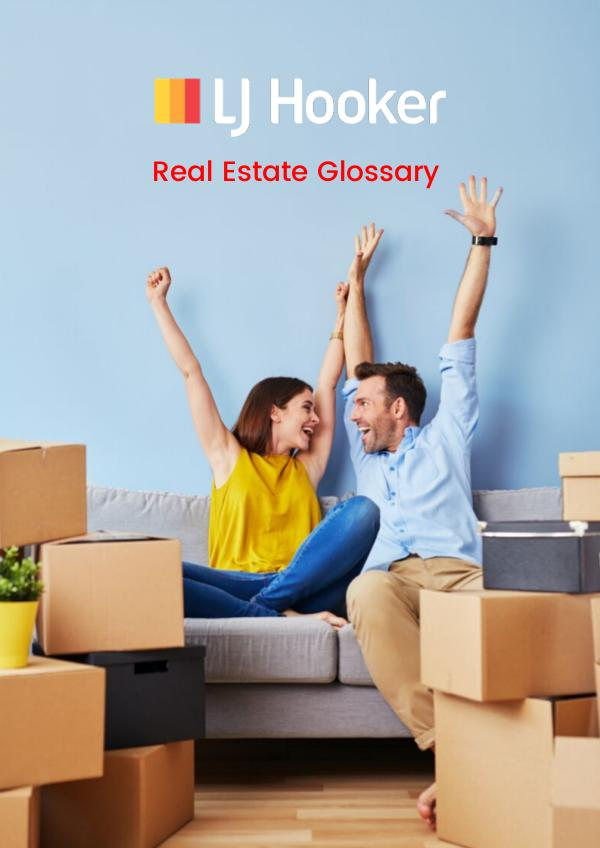 Real Estate Terms Glossary