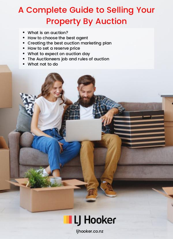 Complete Guide to Selling Your Property By Auction