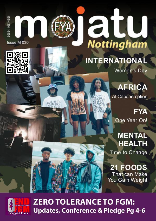 My first Publication Mojatu Nottingham Magazine M030