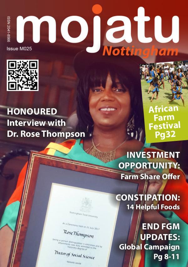 Mojatu Nottingham Magazine Issue M025