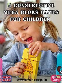 4 Constructive Mega Bloks Games for Children
