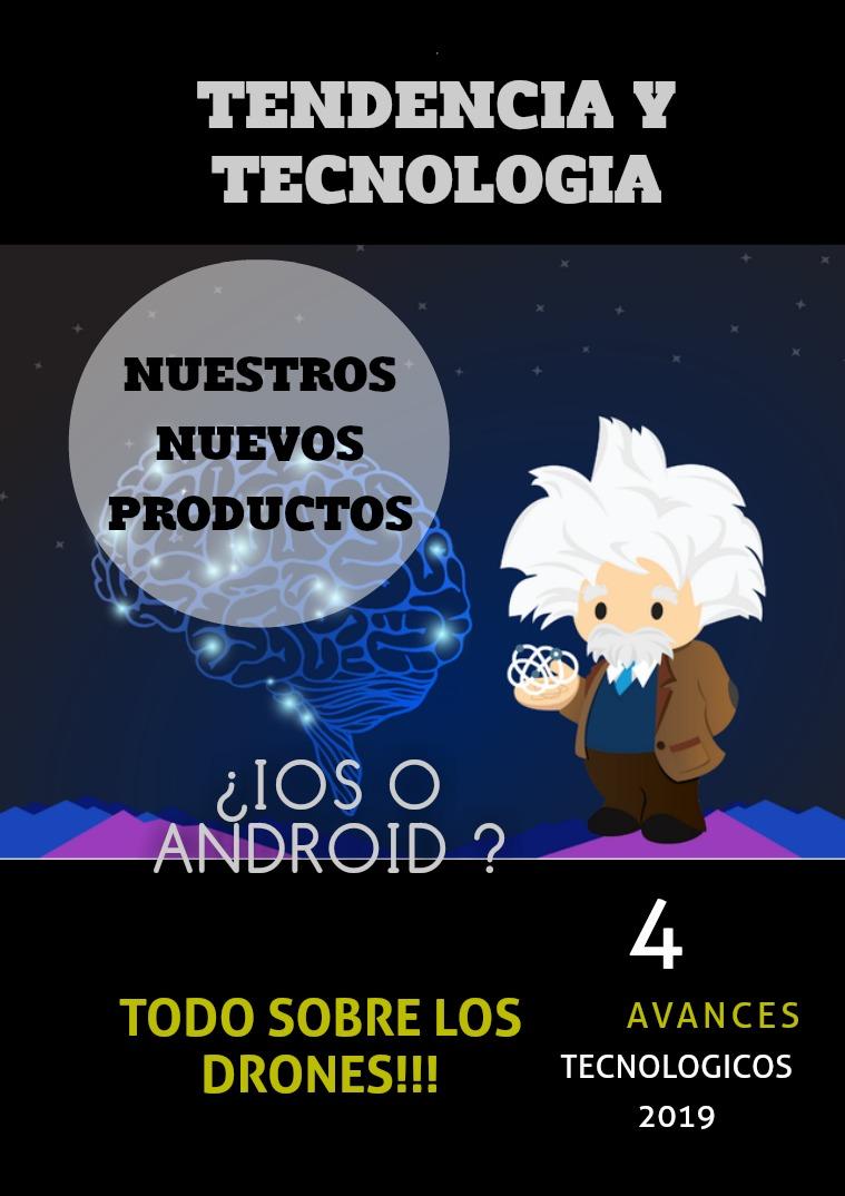 Mi primera publicacion REVISTA TECNOLOGIA Y TENDENCIA