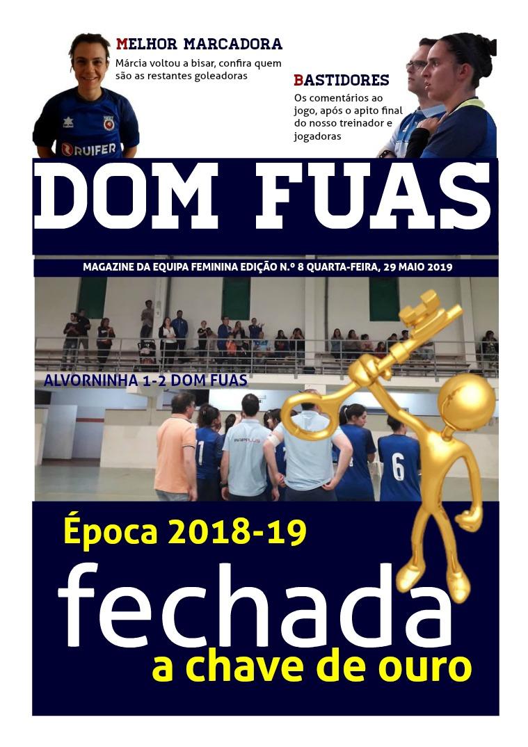 DOM FUAS MAGAZINE EDIÇÃO N.º 8 DE 29 DE MAIO DE 2019