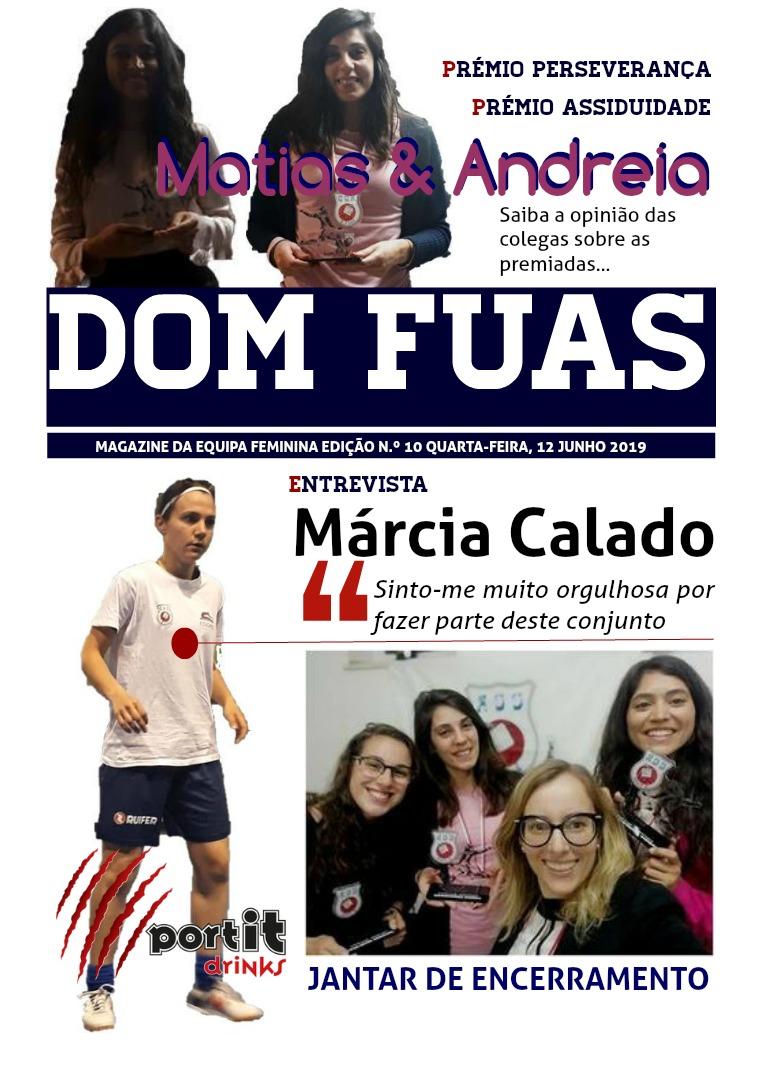 DOM FUAS MAGAZINE EDIÇÃO N.º 10 DE 12 JUNHO DE 2019
