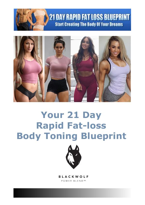 The 21-Day Rapid Fat Loss Blueprint PDF eBook Free Download Start Creating The Body Of Your Dreams eBook PDF