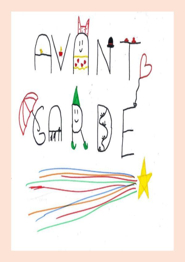AVANT GARDE MAGAZINE 4A CARMEN MAGAZINE 4A CARMEN