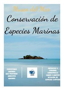 Conservación de Especies Marinas
