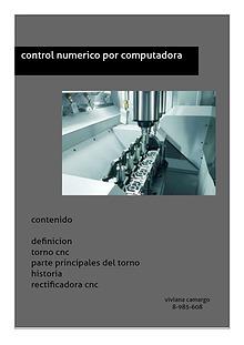 maquina de control numerico computarizado