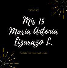 Photobook 15 Años Maria Antonia