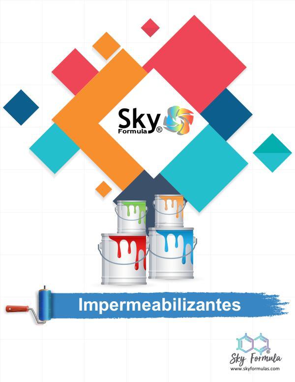 Catálogos Sky Formula Catálogo De Impermeabilizantes