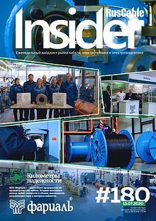 RusCable Insider #180 от 13 июля 2020 года