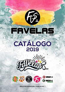 Catalogo Favelas 2019