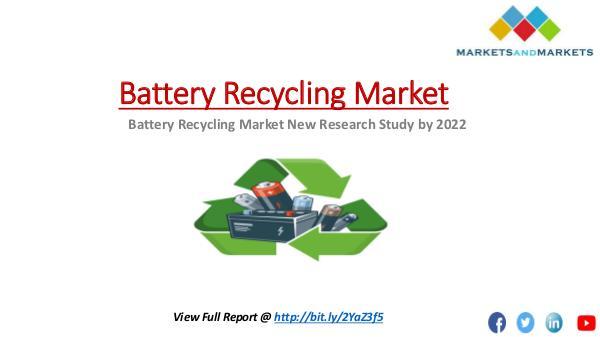 Battery Recycling Market