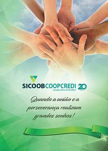 Livro Sicoob Coopcredi 20 anos