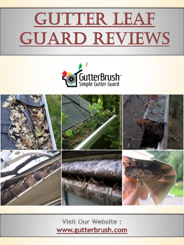 Do It Yourself Gutter Guards Gutter Leaf Guard Reviews