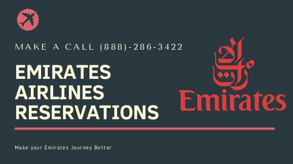 Emirates Airlines Reservations Emirates Airlines