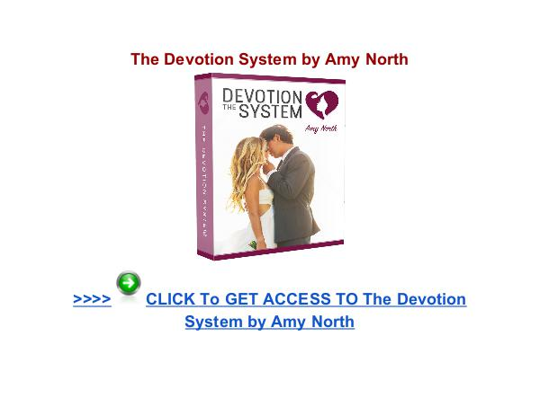 The Devotion System review The Devotion System Amy North