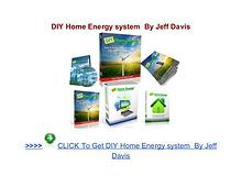 DIY Home Energy system reviews