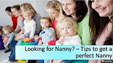 Looking for a Nanny - Do your research