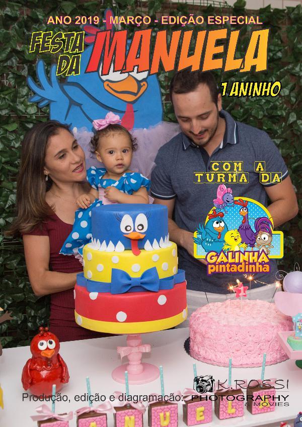 Revista do Aniversário da Manuela Revista Manu-1-Aninho-Portfolio