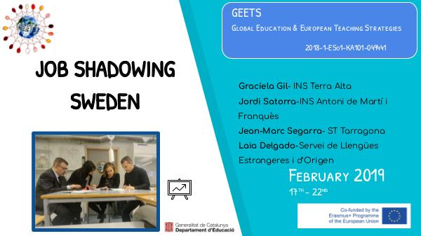 Job Shadowing-Sverige Job shadowing SVERIGE