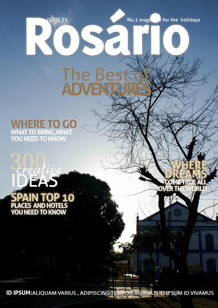 Minha primeira publicação Revista rosário