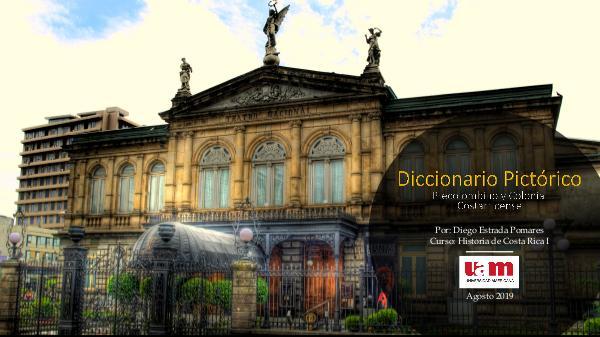 Diccionario Pictórico - Precolombino Colonial Costarricense. Diccionario Pictorico - Diego Estrada