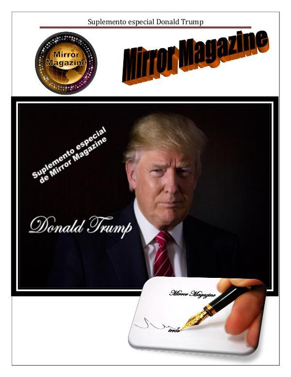 Trump, un gobierno sin pies ni cabeza suplemento DONALD TRUMP