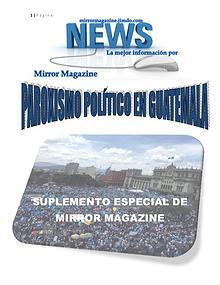 Paroxismo en Guatemala