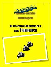 30 años de la masacre en Tiannamen