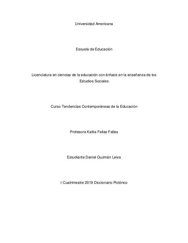 Diccionario DiccionarioDanielGuzman