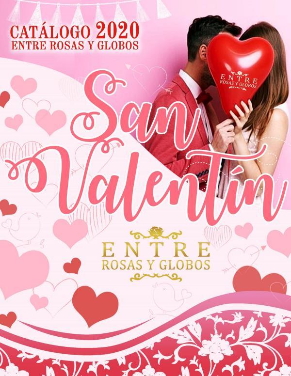 CATALOGO SAN VALENTIN 2020 14 de Febrero 2020