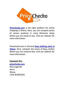 Best Boys Clothing Store in Ghana | Pricechecko.com