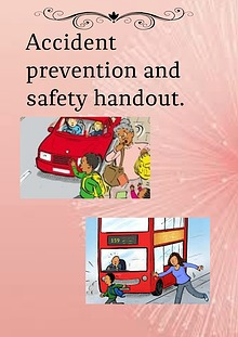 Accident prevention and safety handout.