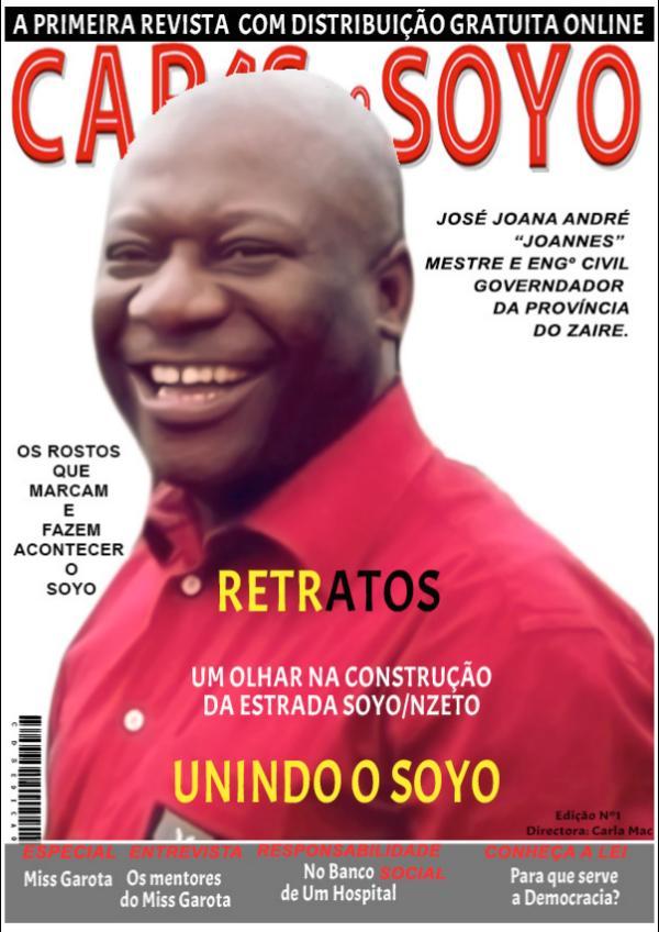 Primeira Edição da Revista Digital 1ª Edição Caras do Soyo