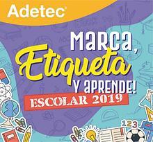 Catálogo Adetec Escolar 2019