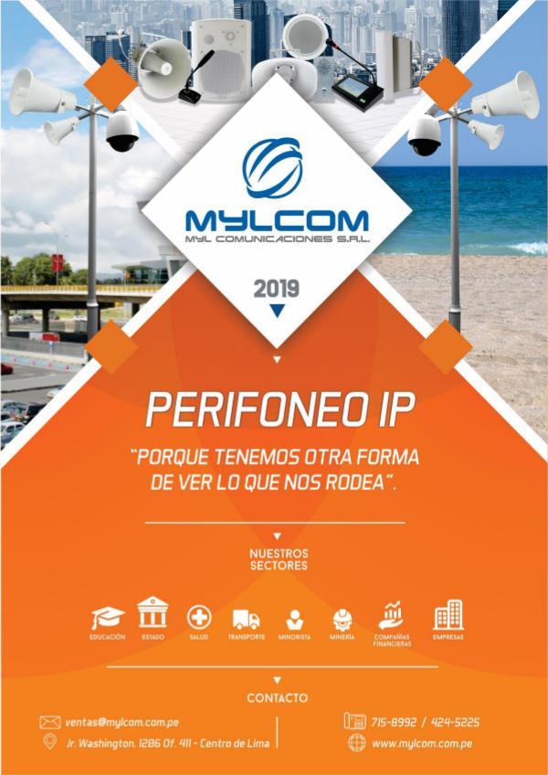 Productos en Comunicación tecnológica PERIFONEO IP (MYLCOM)