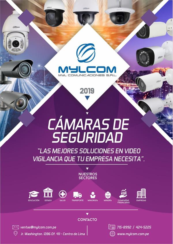 SOLUCIONES Y TECNOLOGÍA EN CÁMARAS DE VIDEOSEGURIDAD CÁMARAS DE VIDEOVIGILANCIA (MYLCOM 2019)