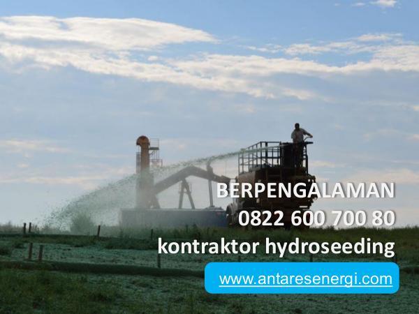 Jasa Reklamasi Lahan Tambang, 0822 600 700 80, TERMURAH BERPENGALAMAN, 0822 600 700 80, kontraktor hydrose