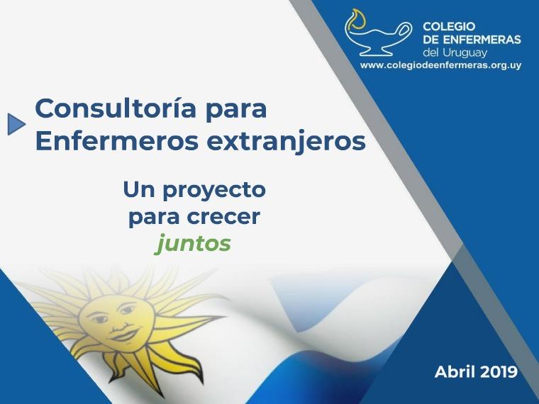 Consultoria para Enfermeros Extranjeros en Uruguay Consultoria para Enfermeros extranjeros  CEDU
