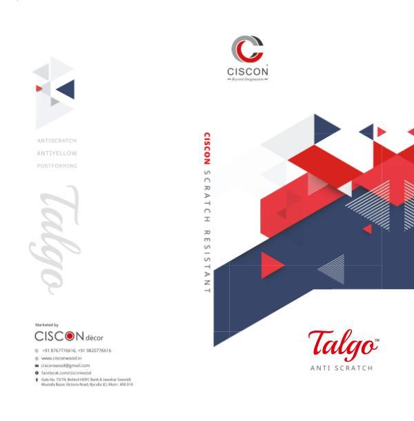 CISCON E CATALOUGES CISCON TALGO 2018