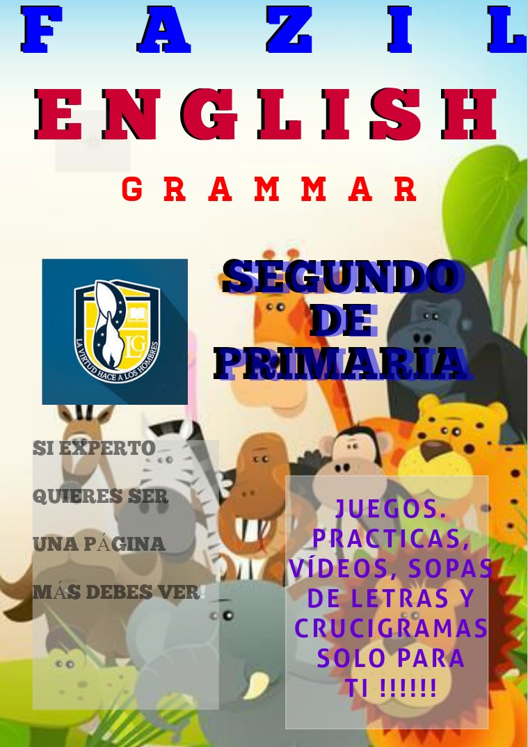 Segundo de Primaria Fazil English