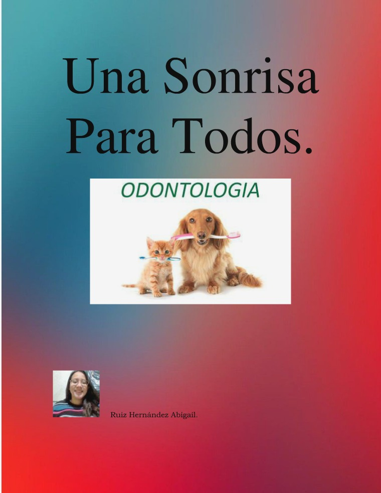 Odontopediatría Animal Odontopediatría Animal