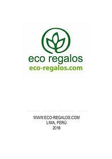 Catálogo Merch Ecológico Germinable 2019