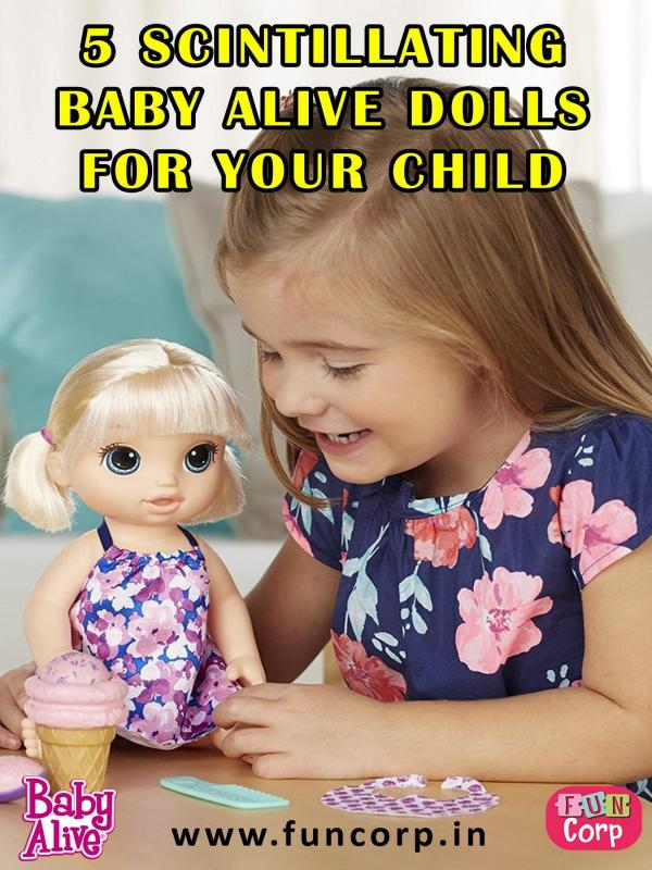 5 Scintillating Baby Alive Dolls for Your Child 5 Scintillating Baby Alive Dolls for Your Child