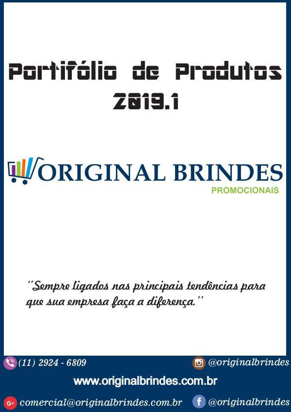 Catálogo - Original Brindes Catálogo de Produtos - Original Brindes