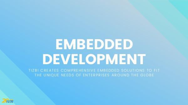 Embedded Development to Fit the Unique Needs of Businesses Around Globe