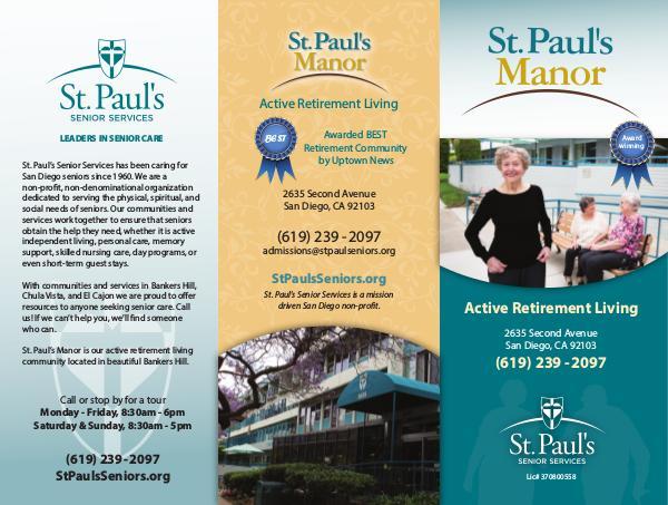 St. Paul's Senior Services St. Paul's Manor