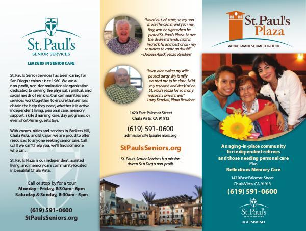 St. Paul's Senior Services St. Paul's Plaza
